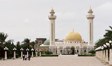 Mauzoleum w Monastyrze