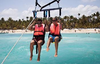 Sporty wodne na Dominikanie