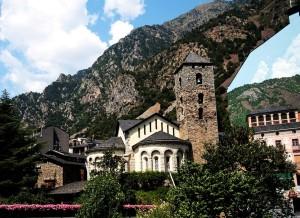 romański kościół andora