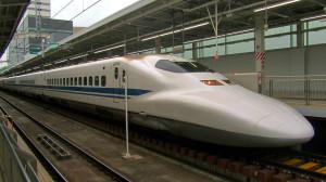 szybkie pociągi w Japonii