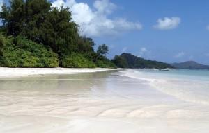 Seszele piękne plaże