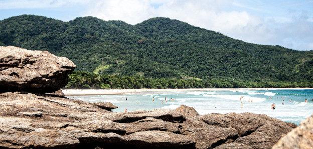 wyspa przy brazylii