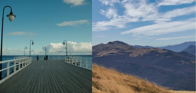 Wycieczka nad morze albo w góry